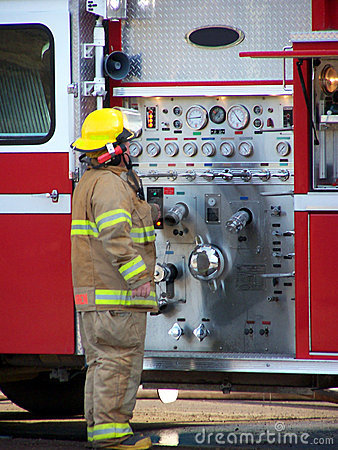 Free Fireman Stock Image - 87591