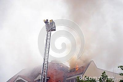 Firemen ladder