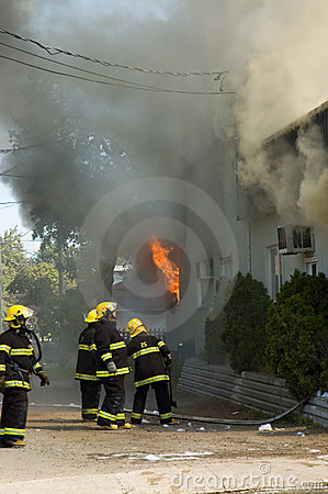 Firemen at work 2