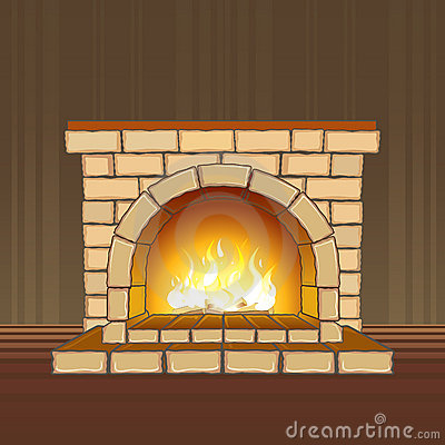 Free Fireplace Stock Photo - 13874470