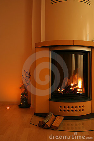 Free Fireplace Royalty Free Stock Images - 426739