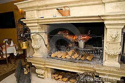 Fireplace cooking