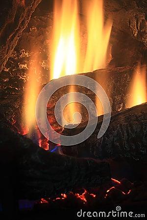 Fireplace Flame