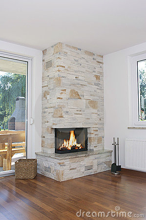Fireplace home