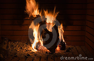 Fireplace shape of a hearth