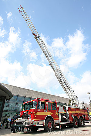 Firetruck Editorial Photo