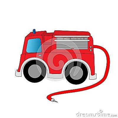 κινούμενα σχέδια firetruck