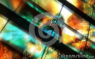 Firewall Explosion Background