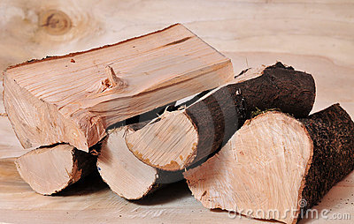 Firewood fuel energy