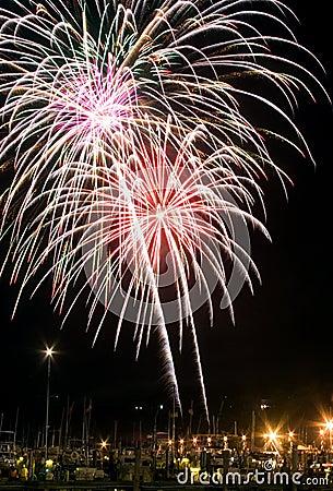 Free Firework Display 1 Stock Photos - 2807913