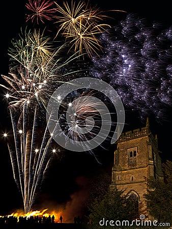 Firework Display - 5th November - England