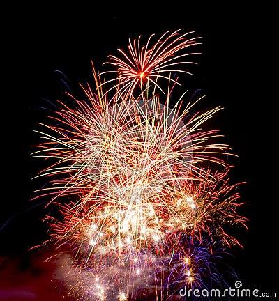 Firework Display on Guy Fawkes Night