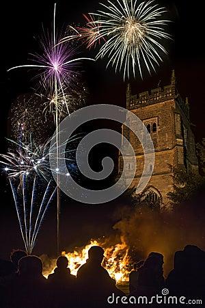 Firework Display - November 5th - England