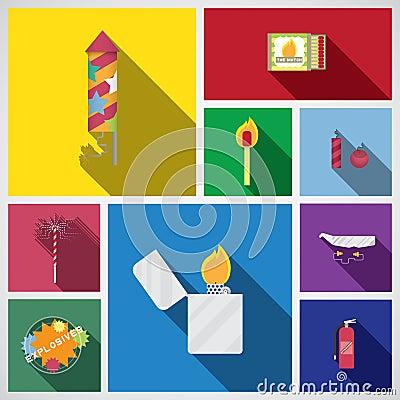 Free Firework Icon Royalty Free Stock Image - 46895196
