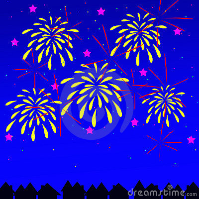 Free Fireworks Royalty Free Stock Photography - 12490077