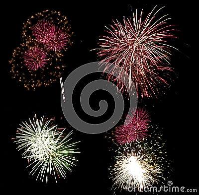 Free Fireworks Royalty Free Stock Photo - 1432625