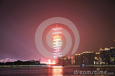 Fireworks of The 16th Asian games