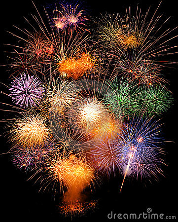 Free Fireworks Stock Images - 19607274