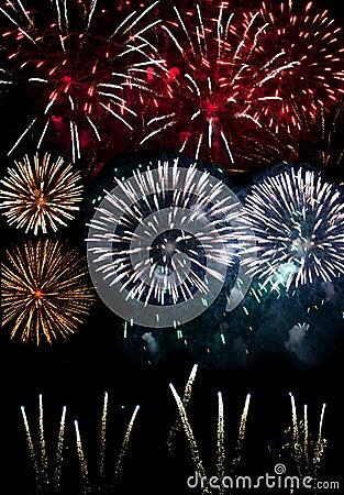 Free Fireworks Stock Image - 28050241
