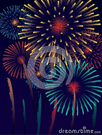 Fireworks Royalty Free Stock Photos - Image: 3035518