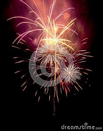 Free Fireworks Royalty Free Stock Image - 30670076