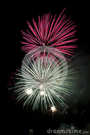 Free Fireworks Royalty Free Stock Photography - 30923057