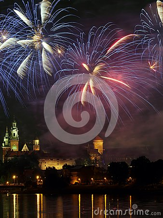 Free Fireworks Royalty Free Stock Photo - 34297575