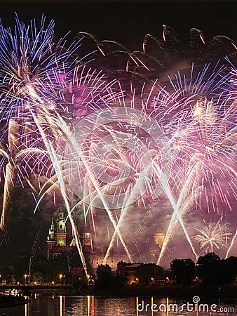 Free Fireworks Stock Photos - 34908963