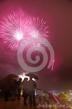 Free Fireworks Royalty Free Stock Photo - 35633115