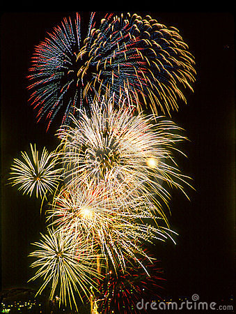 Free Fireworks 4th Of July Stock Photo - 138710