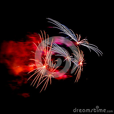 Free Fireworks Stock Images - 58707574