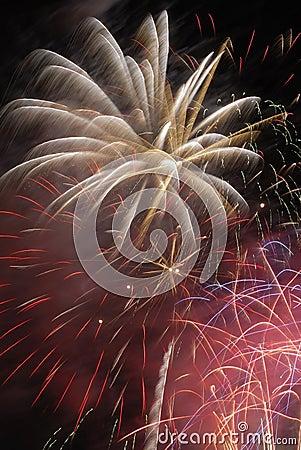 Free Fireworks Stock Image - 9854521