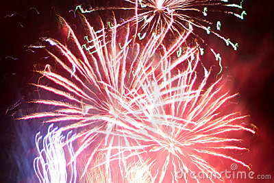 Fireworks abstraction