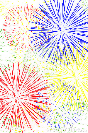 Free Fireworks Background Royalty Free Stock Photography - 24580127