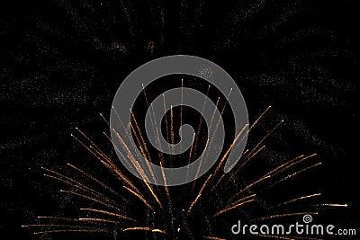 Fireworks background night