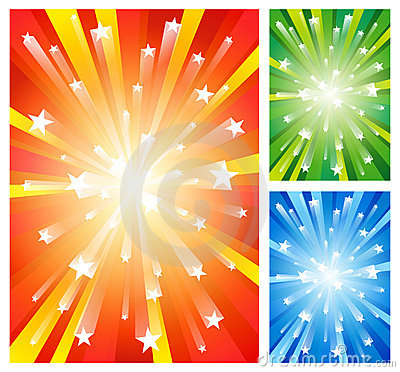 Fireworks backgrounds
