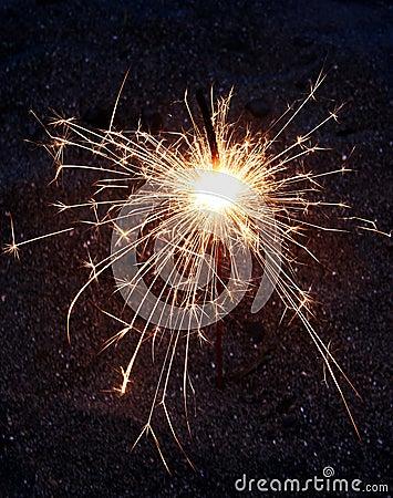 Fireworks bengal sparkler