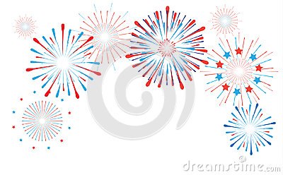 Fireworks Vector Illustration
