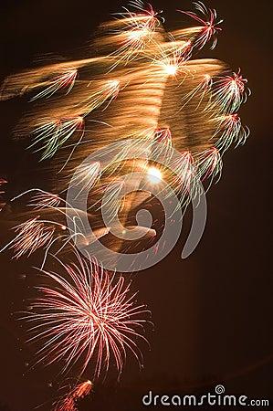 Fireworks Burst