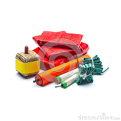 Free Fireworks Cracker Assortment Stock Photography - 48165972