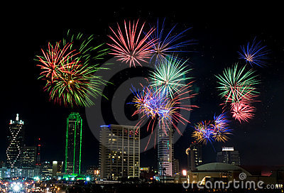 Fireworks - Dallas Texas
