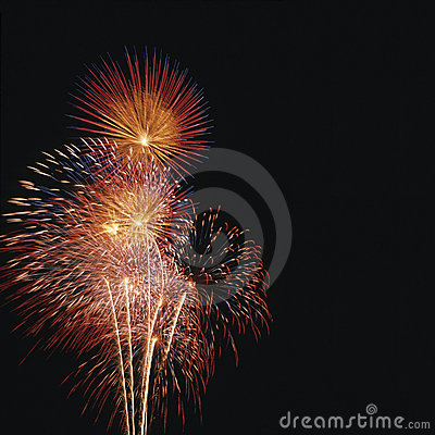 Free Fireworks Display Royalty Free Stock Photo - 3897455