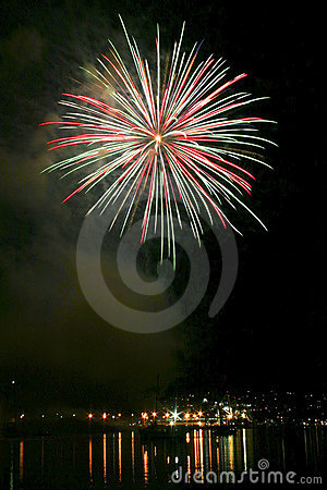 Free Fireworks Exploding At Night Royalty Free Stock Photo - 5007785