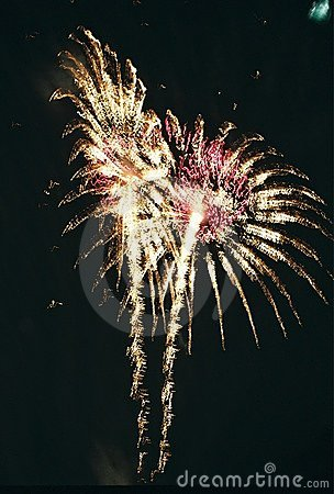 Fireworks Feathers