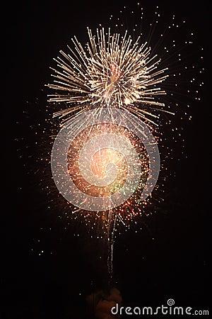 Fireworks finale three