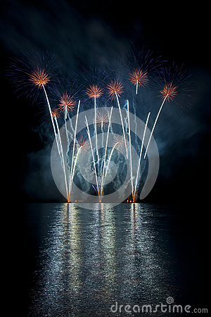Free Fireworks Ignis Brunensis Royalty Free Stock Photos - 30138288