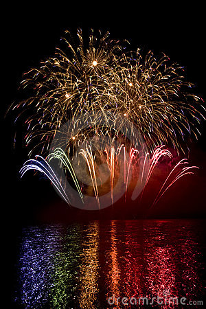 Free Fireworks In Brno Stock Images - 19142144