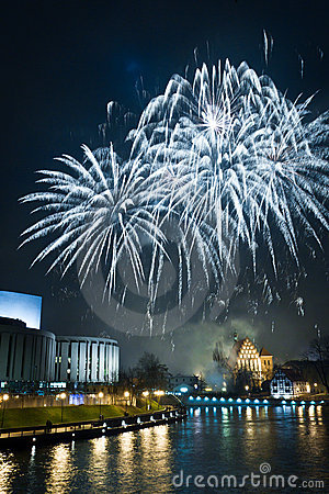 Fireworks and New Year s Eve