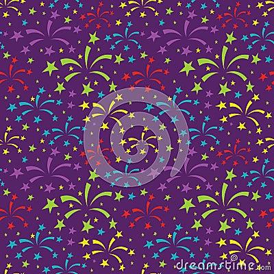 Free Fireworks Pattern Royalty Free Stock Photo - 61043155