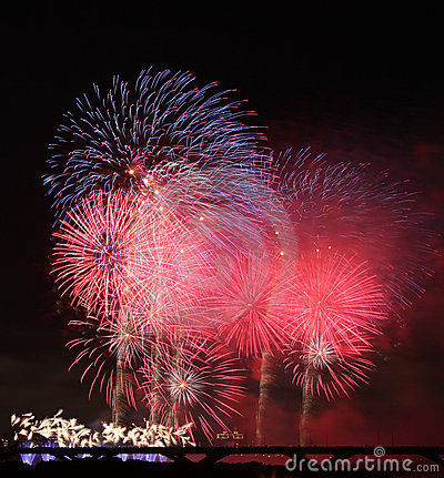 Free Fireworks Show In Taiwan Royalty Free Stock Photo - 16624325